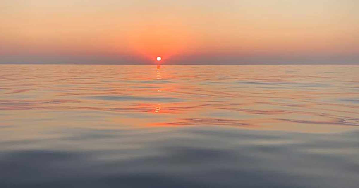 tramonto a Saline